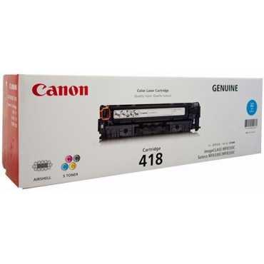 Canon 418 Cyan Toner Cartridge - Blue