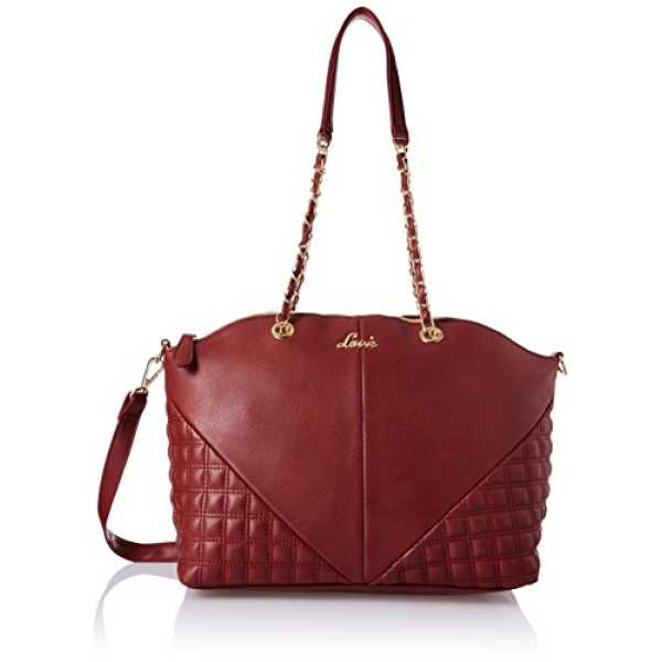 Lavie Women s Handbag Maroon