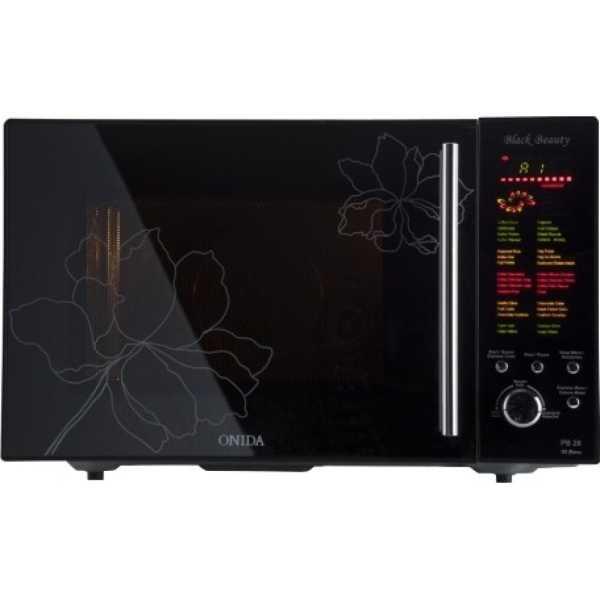 Onida 123 MO28BJS17B Microwave - Black