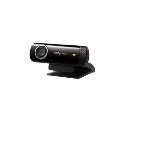 Creative Live Cam Chat HD Webcam - Black