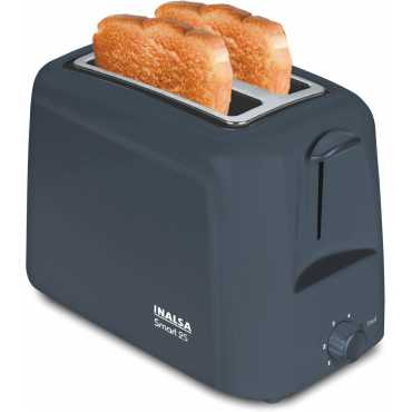 Inalsa Smart 750W 2-Slice Pop Up Toaster - Grey