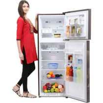 LG GL-Q282SSAM 255 Litre  Double Door Refrigerator
