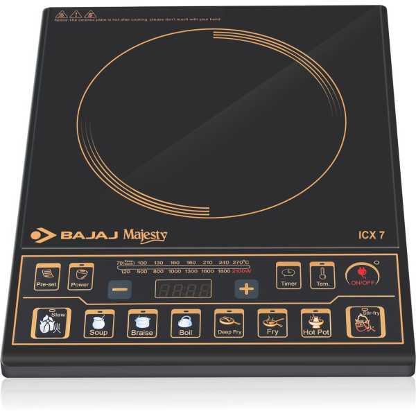 Bajaj ICX 7 Induction Cook Top - Black