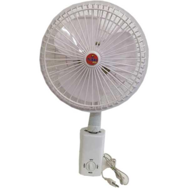 Turbo 4000  Flexi 3 Blade Wall Fan - White