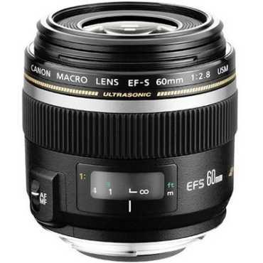 Canon EF-S 60mm f/2.8 Macro USM Lens - Black