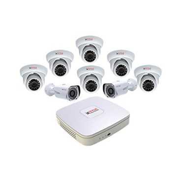CP PLUS CP-HDCVI 8ChD-6IRD-2L2D 8Channel DVR + 6 Dome IR + 2 Bullet IR CCTV Camera