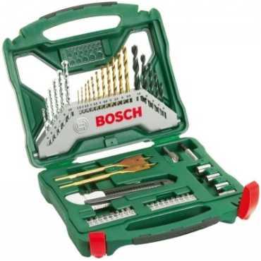Bosch X50Ti Drill Bit Set - Green