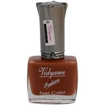 Vidyame Nail Paint (Brown) - Brown