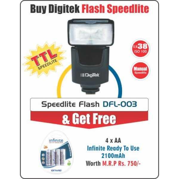 Digitek DFL-003 Speedlite Flash - Black