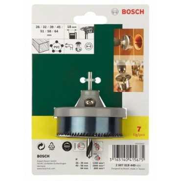 Bosch 2607019449 (7 piece) hole cutter set