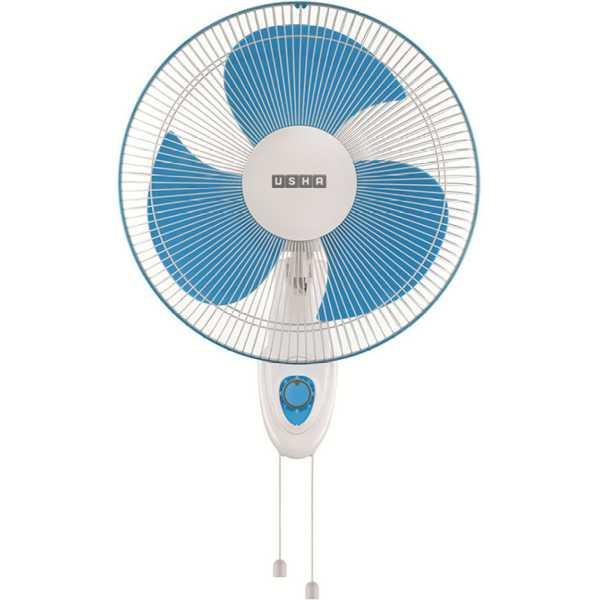 Usha Helix Pro high speed 3 Blade Wall Fan - White