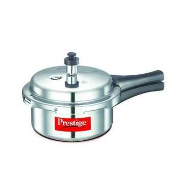 Prestige Popular Aluminium Cooker 2 L Pressure Cooker Induction Based Outer Lid