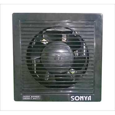 Sonya HS 6 Blade (150mm) Ventilation Exhaust Fan - Black | Brown