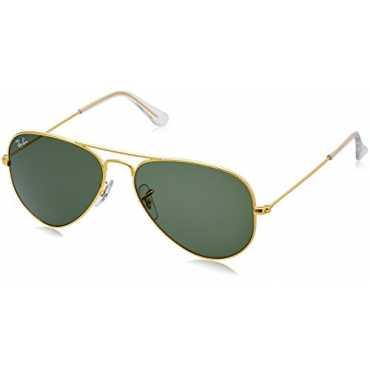 Aviator Women Sunglasses RB-3025-0015-55 55 millimeters Green