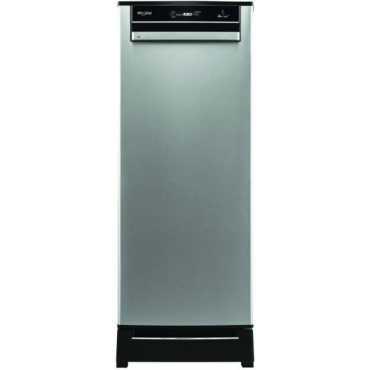 Whirlpool 215 Vitamagic Pro Roy 200L 4 Star Single Door Refrigerator (Alpha Steel) - Steel