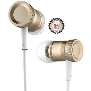 Rock Mula In Ear Headset - Gold