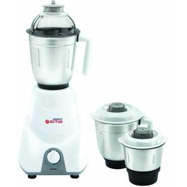 Orient Actus MG5501G 3 Jar 550W Mixer Grinder - White And Gray