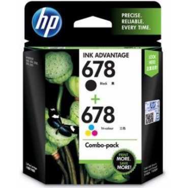 HP 678 Combo Ink Cartridges - Black
