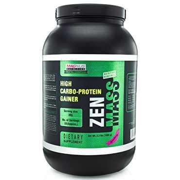 Magnus Nutrition Zen Mass (2.2 lbs, Rich Chocolate) - Brown