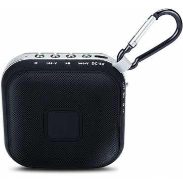 iBall Musi Square BT6 Bluetooth Speaker - Black | Brown