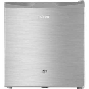 Intex RR061ST 50L 1 Star Single Door Refrigerator (Silver Hairline) - Silver
