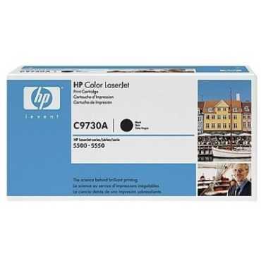 HP 645A Black LaserJet Toner Cartridge - Black