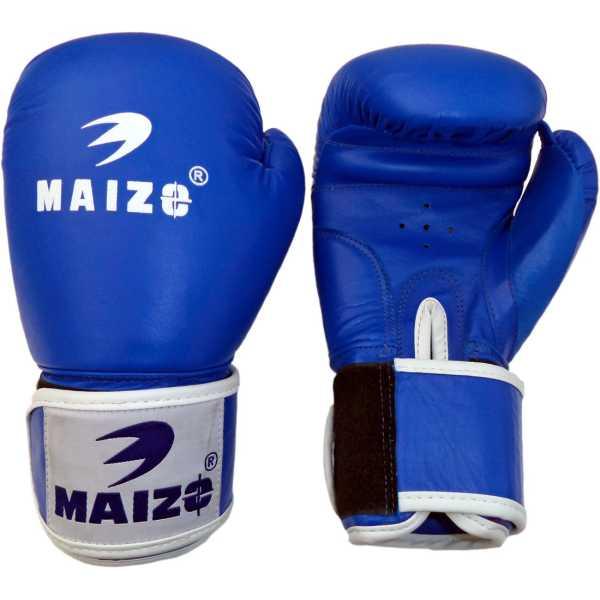 Maizo Competition Style Boxing Gloves (Medium) - Blue