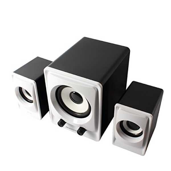 Ambrane SP-100 2.1 Channel Multimedia Speakers - Black