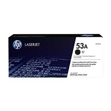 HP 53A (Q7553A) Black LaserJet Toner Cartridge - Black