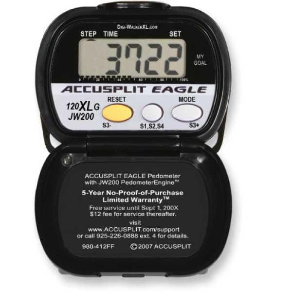 Accusplit AE120XLG Goal Setting Pedometer