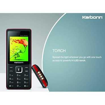 Karbonn Kphone Mashaal - Grey   Black
