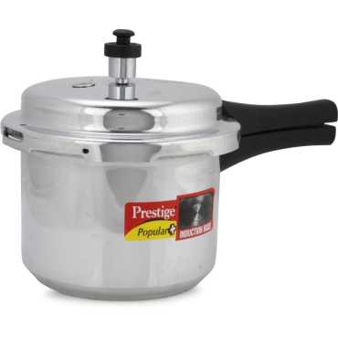 Prestige Popular Plus Aluminium 3 L Pressure Cooker Induction Bottom Outer Lid