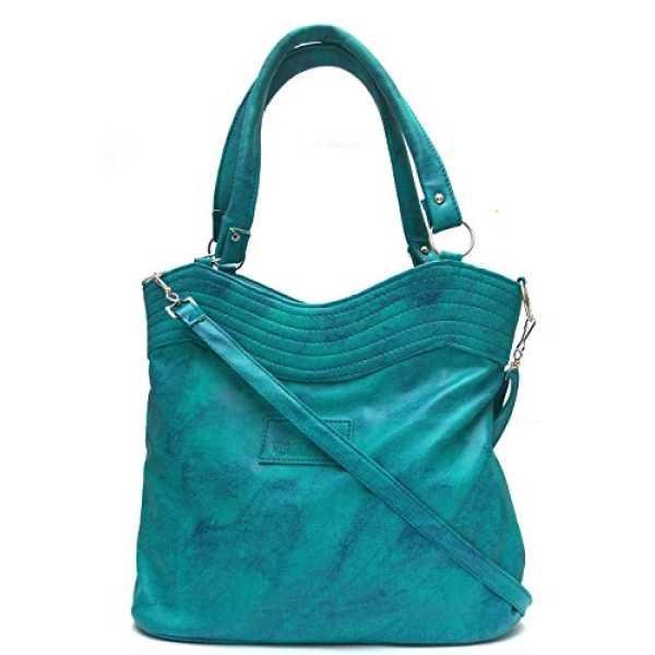 Zedge Stylish Smart Ladies Handbag Sky Blue SNR-108