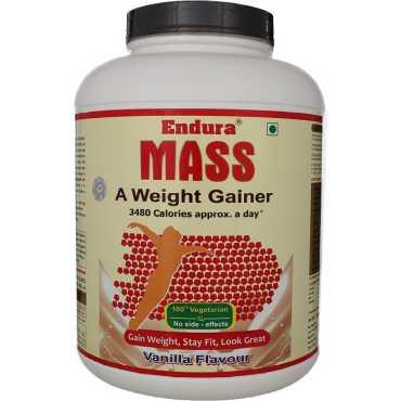 Endura Mass Weight Gainer (3 Kg,Vanilla)