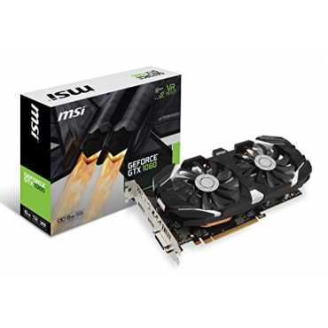 MSI GeForce GTX 1060 6GT OC 6GB GDDR5 Graphics Card - Black