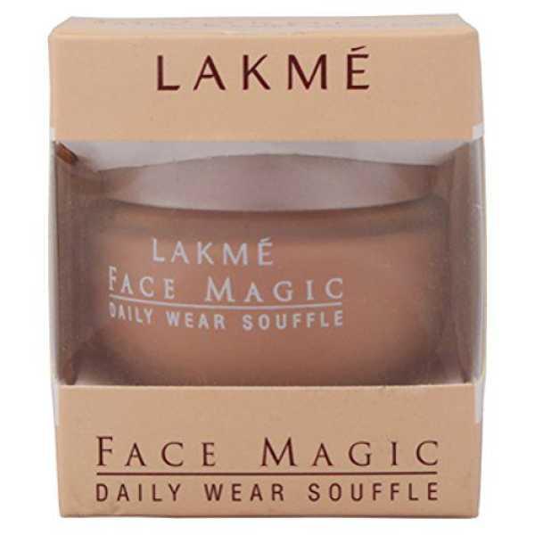 Lakme  Face Magic Daily Wear Souffle Foundation (Shell)