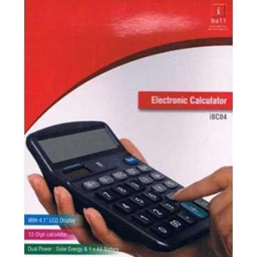 iball iBC04 Basic Calculator - Black
