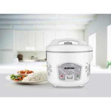 Borosil Pronto Deluxe 1.8L Electric Cooker - White