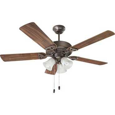 Orient Electric Under Light Wood Wind 5 Blade (1300mm) Ceiling Fan - Bronze