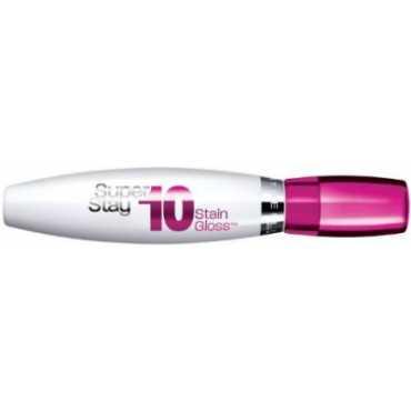 Maybelline Superstay 10 hour Stain Lip Gloss (Fresh Fuchsia) - Purple