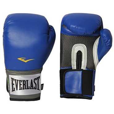 Everlast 1200025 Pro Style Training Gloves  8 Oz - Blue