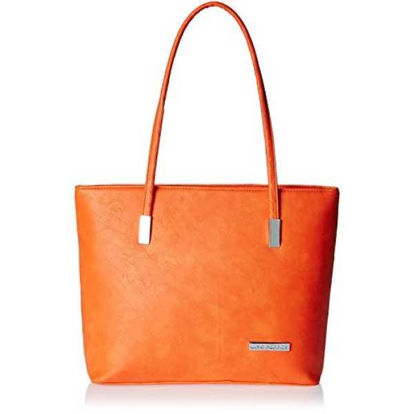 Orange Polyurethane Pu Handbag