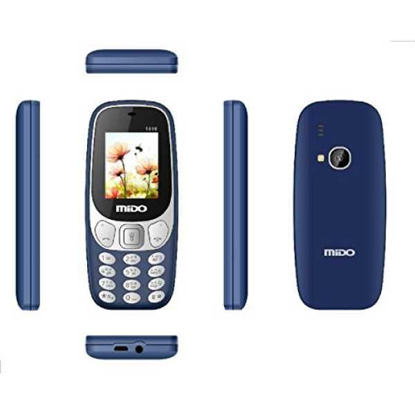 Mido 1616  - Grey | Yellow | Blue | Black | Orange