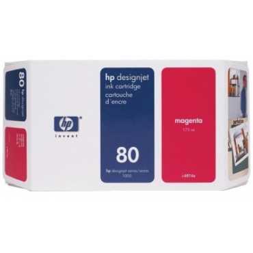 HP 80 175-ml Magenta Ink Cartridge - Magenta