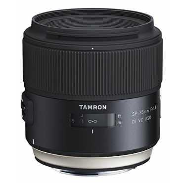 Tamron SP 35mm F/1.8 Di VC USD Lens (For Canon DSLR) - Black
