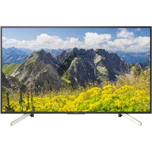 Sony (KD-65X7500F) 65 Inch 4K Ultra HD Smart LED TV - Black
