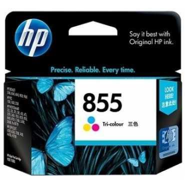 HP 855 Tricolor Inkjet Print Cartridge - Pink