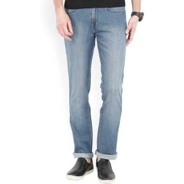Wrangler Regular Men Blue Jeans