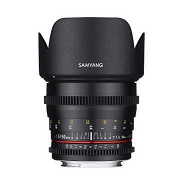 Samyang 50mm T1.5 AS UMC VDSLR Cine Lens (For Canon)