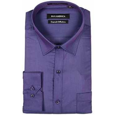 Men's Cotton Formal Shirt (cs590317jc2160037, Blue, Large)